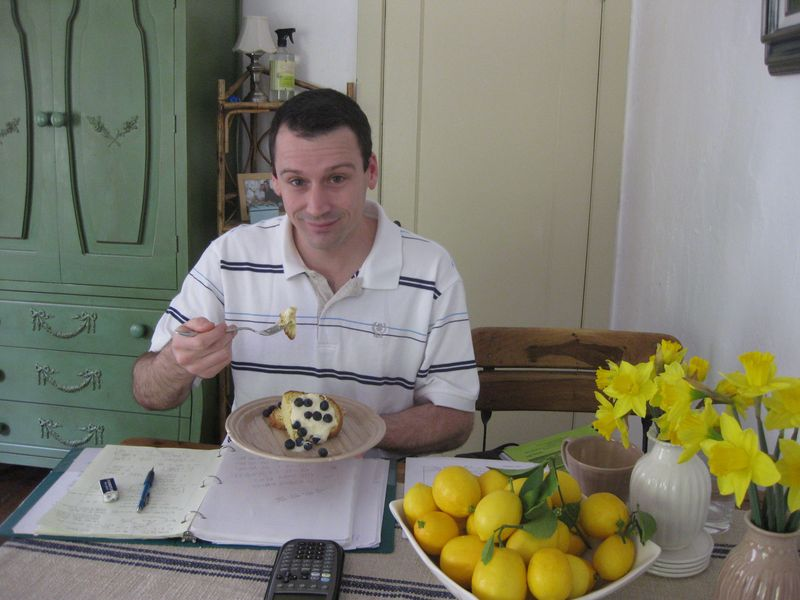 The Dish Lady Bird S Lemon Bundt Cake